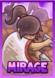 Kingdom Rush Frontiers - Mirage (hero)