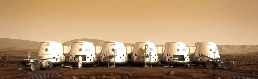 mars one colony