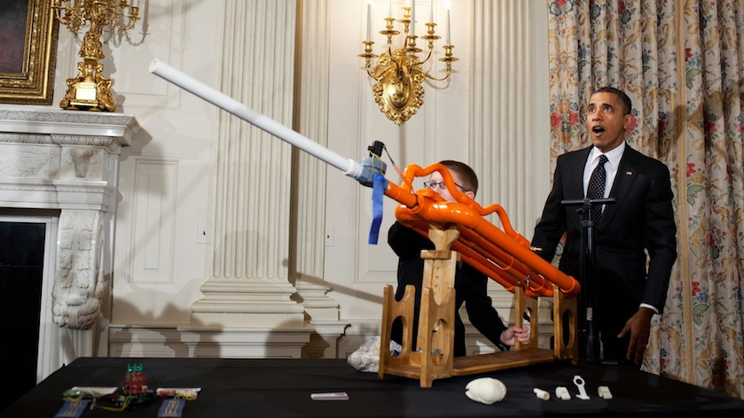 Obama Science Fair