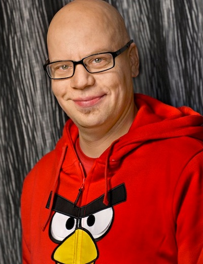 Jami Laes, Rovio's evp of games