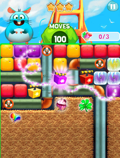 Fruit Blast Mania action