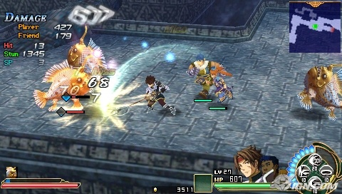 Ys Seven action packed gameplay
