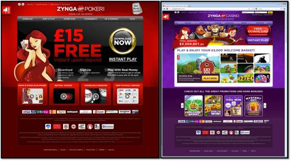 Zynga real-money gambling