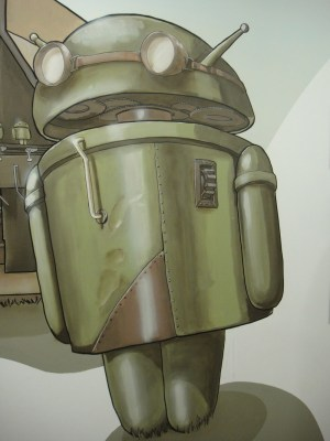 Android meets Wall-E.