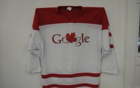 Google plays ice hockey, apparently.
