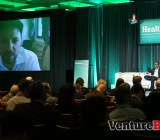 Bryan Sivak, the CTO of HHS, addresses the crowd at HealthBeat