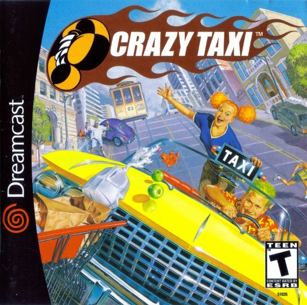 Crazy Taxi cover