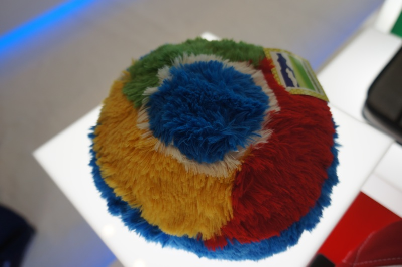 Plushies at the Google Store