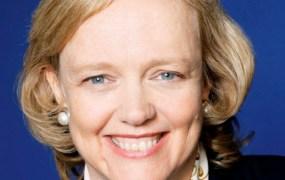 Hewlett-Packard chief executive Meg Whitman