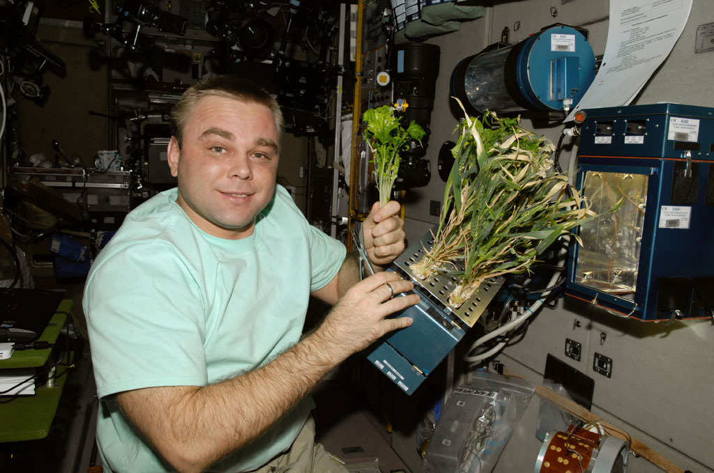 NASA Mars farming