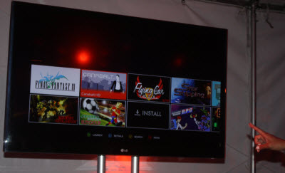 ouya big screen