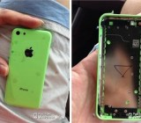 Leaked iPhone 5S green shell