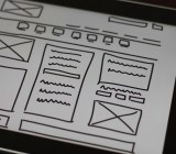 wireframe website prototype