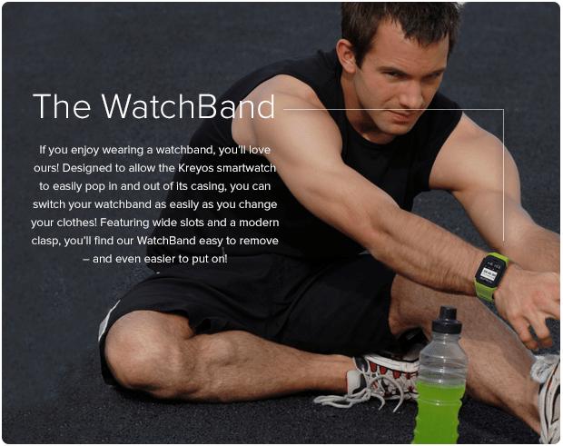 Watchband from Kreyos Meteor