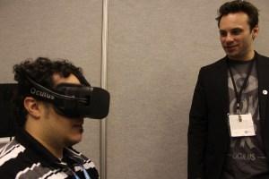 Oculus prototype