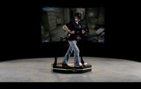 Virtuix Omni virtual reality treadmill