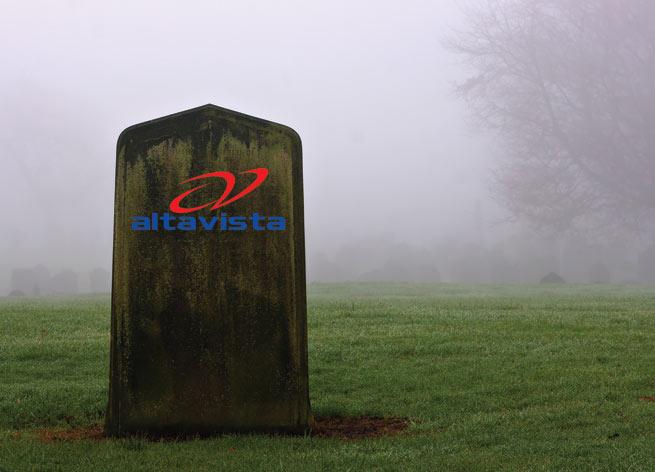 RIP AltaVista