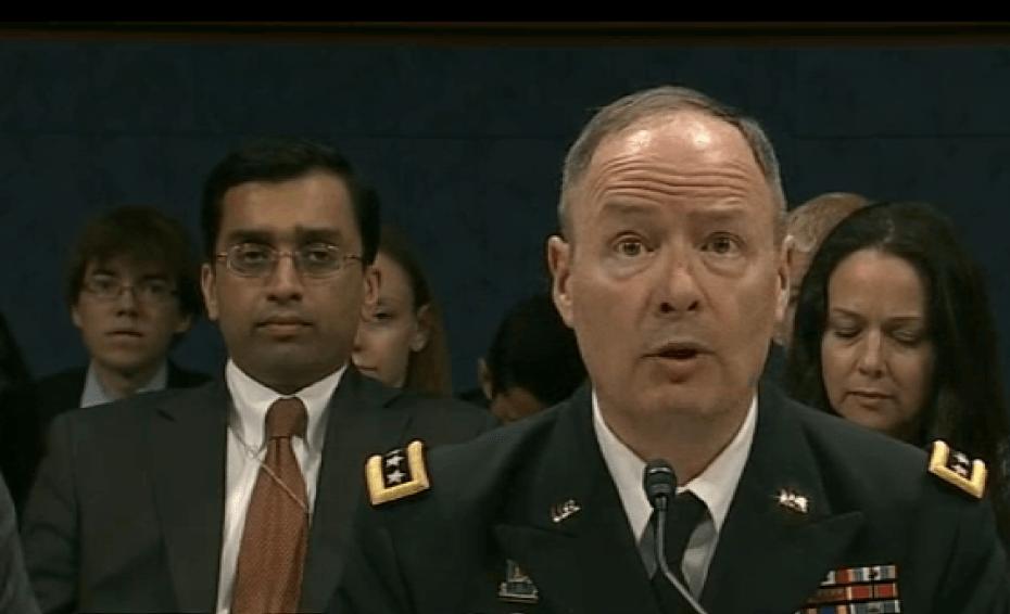 Former NSA director Keith Alexander