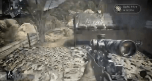 A screenshot from a popular Machinima Extreme first-person shooter video