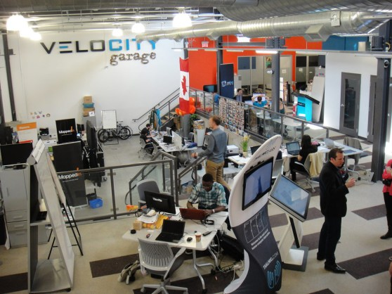Velocity Garage, at Communitech in Waterloo, Ontario