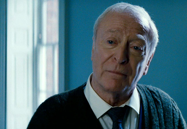 Alfred, Batman's trusty butler, isn't happy