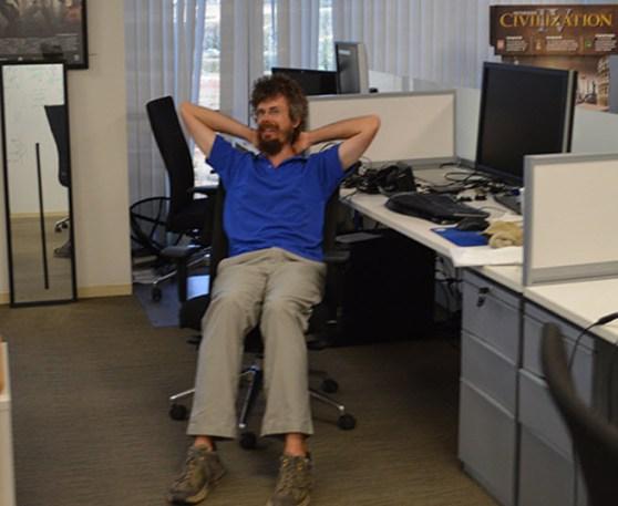 Andrew Reisse, co-founder of Oculus VR