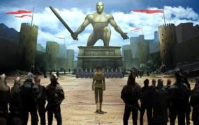 Every man and woman in the Eastern Kingdom of Mikado must undergo a strange ritual to become a samurai in Shin Megami Tensei IV.