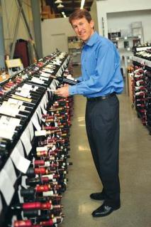 """Wine.com CEO Rich Bergsund says the company has """"hundreds of thousands of happy customers."""""""