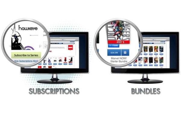 Comixology subscriptions