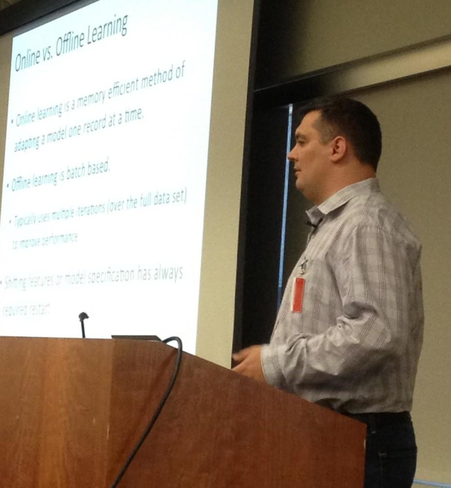 Context Relevant CEO Stephan Purpura.