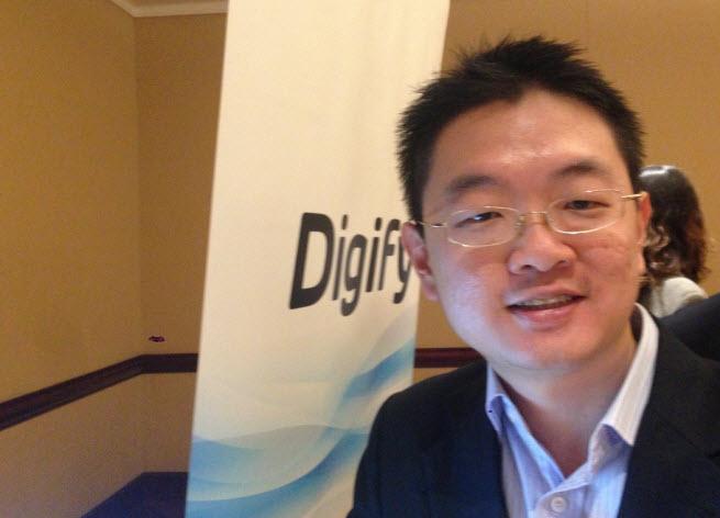 Digify CEO Augustine Lim.