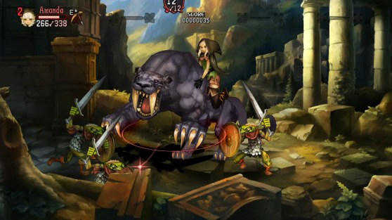 Dragon's Crown Beast Riding