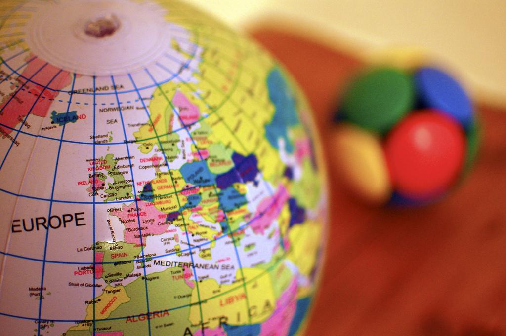 europe globe