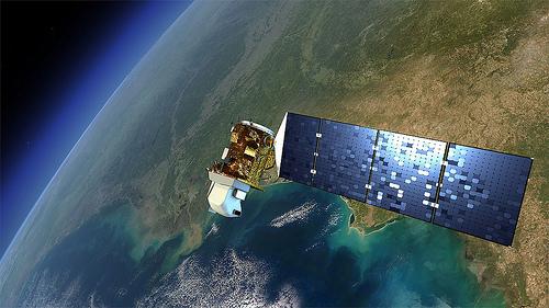 satellite space