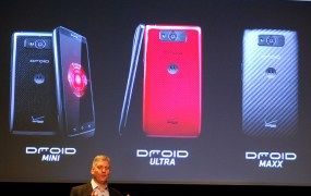 Verizon shows off its newest Droid smartphones