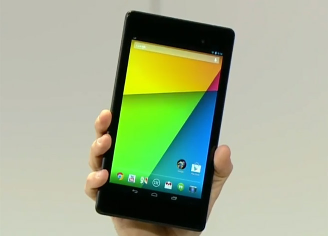 The new Nexus 7 tablet