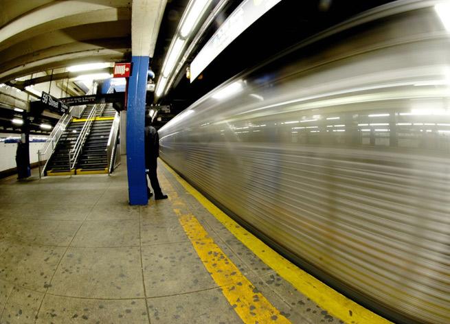 New York City subway station