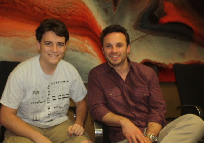 Oculus VR's Palmer Luckey and Brendan Iribe