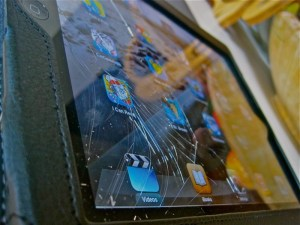 Smashed iPad