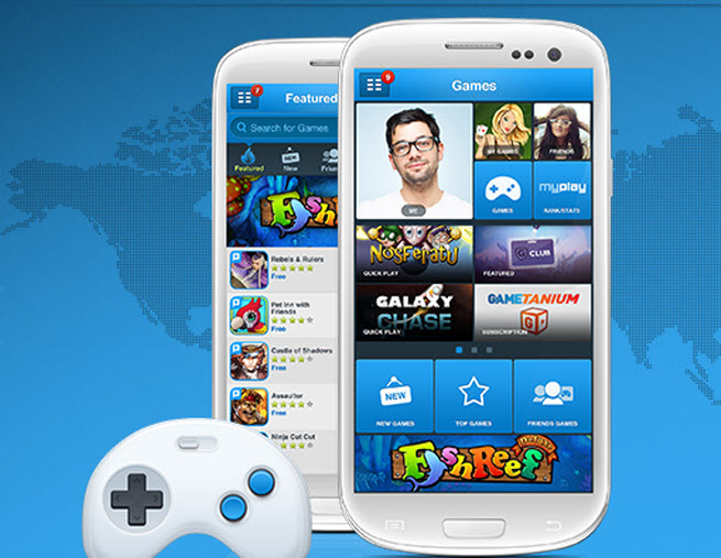 PlayPhone provides game portal for Sprint.