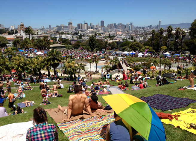 San Francisco's Dolores Park