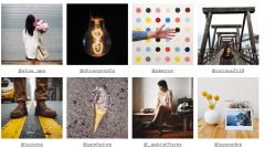 Instagram artists selected for the new agency, Tinker Mobile