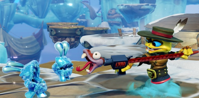 Rattle Shift Skylander.