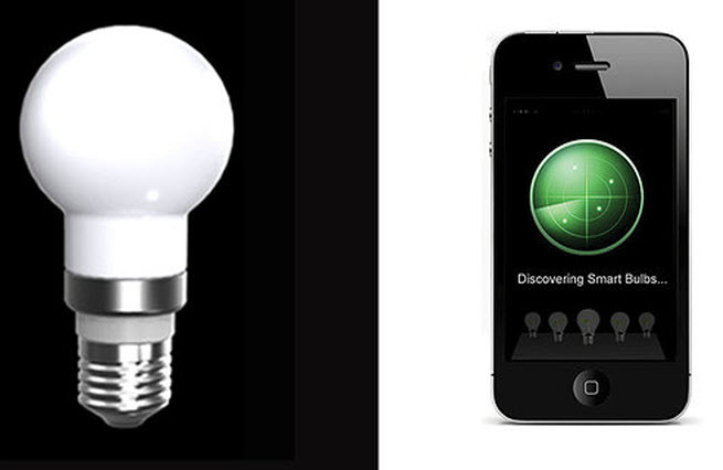 Robosmart: the smart lightbulb you control with an app.