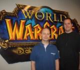 Tom Chilton and J. Allen Brack of WoW.