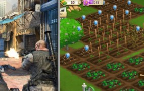 Call of Duty and FarmVille