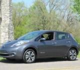 2013 Nissan Leaf, Nashville area test drive, April 2013