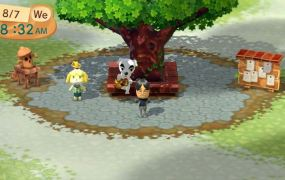 Animal Crossing Plaza for Wii U.