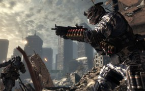 A screenshot from Call of Duty: Ghosts.