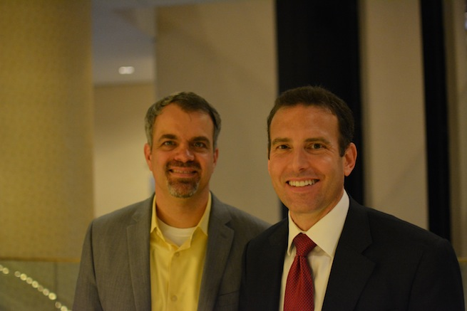 SugarCRM's Larry Augustin and Clint Oram